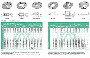 CLASS 300 FLANGES